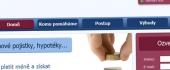 Уеб дизайн за Fifin.cz - застраховки по-евтини с до 30%